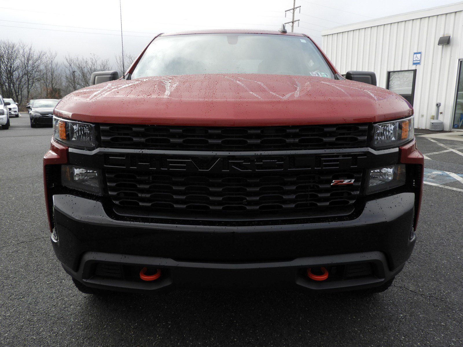 Pre-Owned 2019 Chevrolet Silverado 1500 Custom Trail Boss