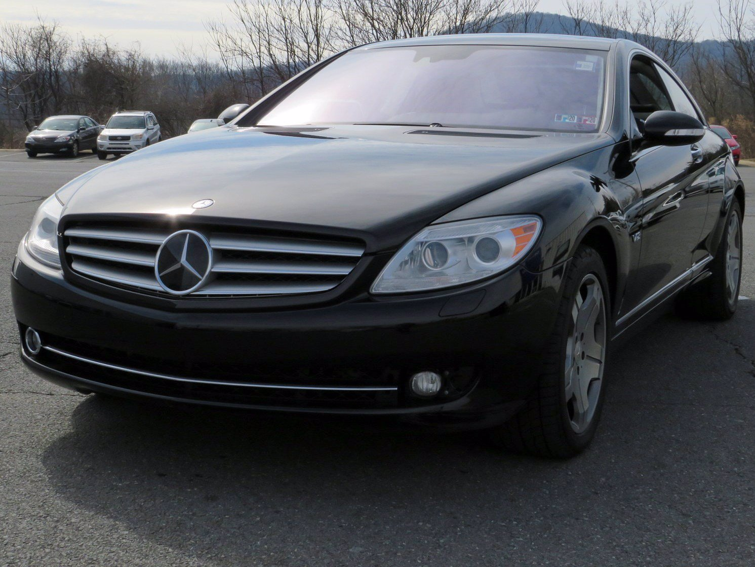Pre-Owned 2008 Mercedes-Benz CL-Class V12